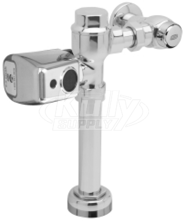 Zurn Aquasense Zer6200 Het Cpm Battery Powered Flush Valve