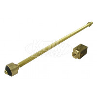 Zurn 66955-322-9 Operating Rod Assembly - up to 12""